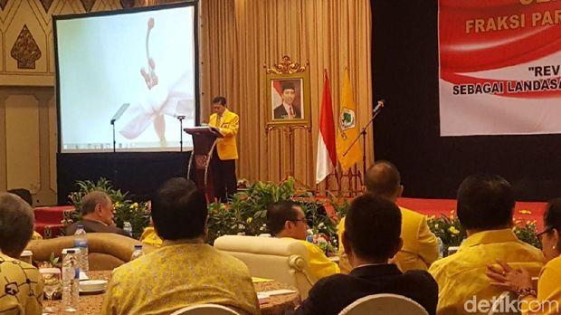 Buka Seminar Golkar, Novanto Bicara soal Generasi Milenial Pancasila