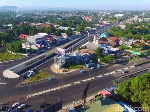 Underpass Simpang Mandai di Makassar Siap Beroperasi