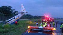 Pesawat Asian One Air Tergelincir di Bandara Sentani, Papua