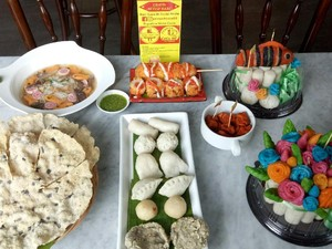 Kreatif! Kini di Palembang Ada Pempek Bentuk Ikan Nemo dan Aneka Buah