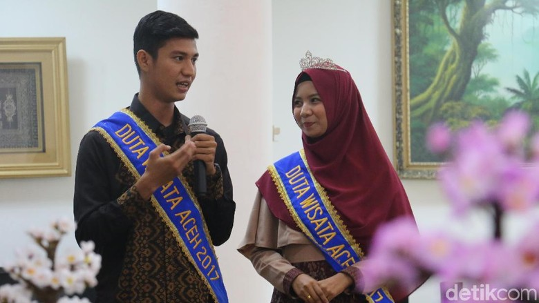 Duta Wisata Aceh (Agus Setyadi/detikTravel)