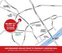 Besok, Transmart Carrefour Palembang City Center Resmi Dibuka