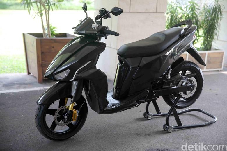 Motor Listrik Gesits. Foto: Agung Pambudhy