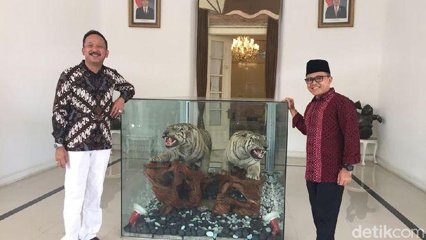 Anas Sisir Wilayah Mataraman, Kulonuwun ke Para Bupati