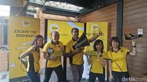 Scoot Airlines Akan Buka 14 Rute Internasional dari Palembang