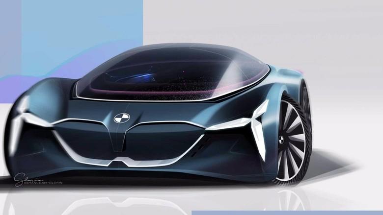 Perkiraan desain mobil masa depan BMW (Foto: Istimewa)