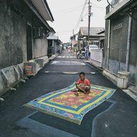 Keren! Lukisan 3D Jalanan Karya Anak Depok