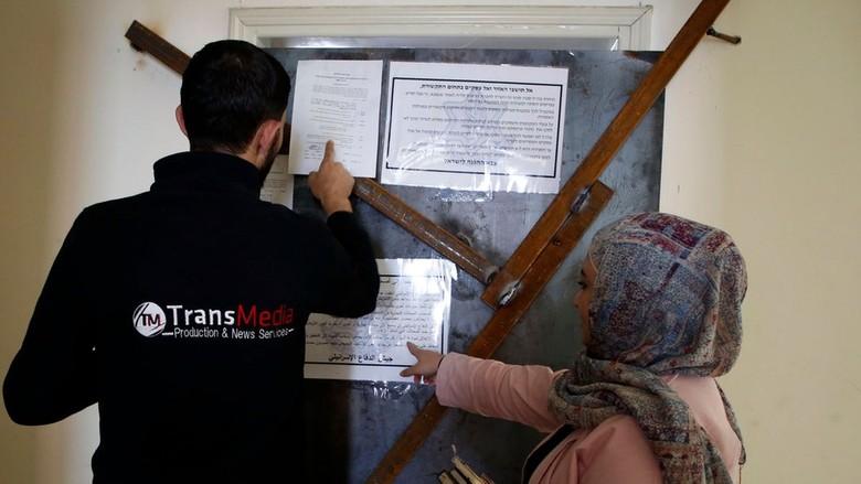 Israel Gerebek Delapan Media Palestina di Tepi Barat
