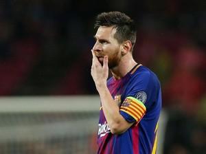 Messi vs Chelsea: Delapan Laga, 29 Tembakan, 0 Gol