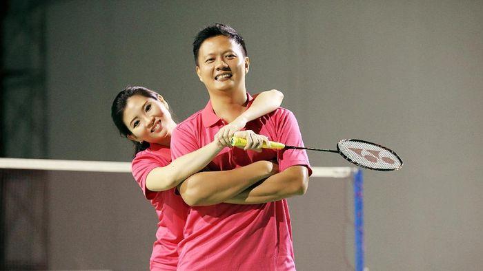 Debby Susanto akan menikah dengan Hapitwan Daya, yang juga mantan pebulutangkis. (Njoto Sugeharto/Diana Foto)