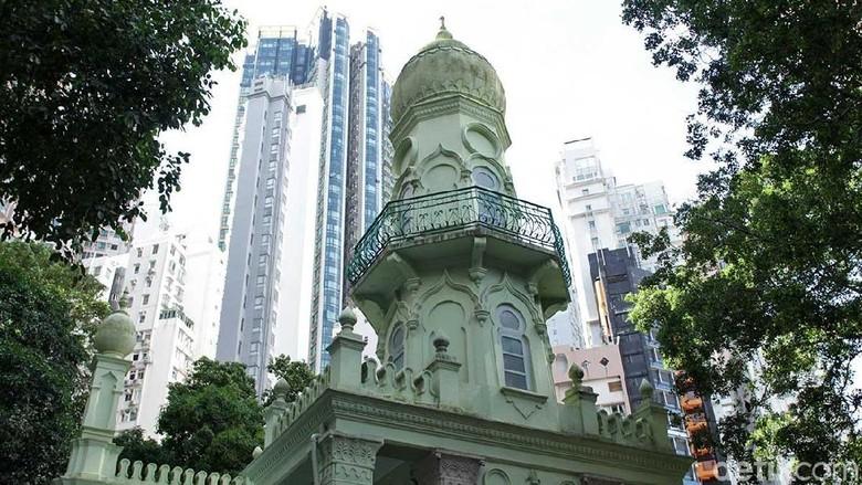 Masjid Jamia di Hong Kong (Randy/detikTravel)