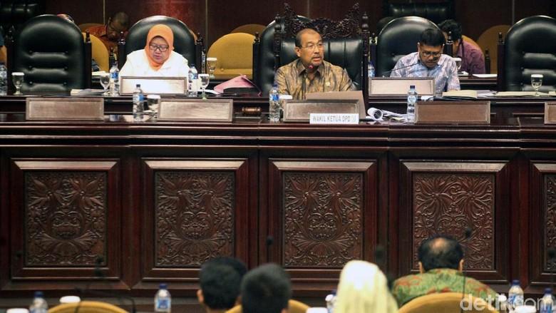 DPD Gelar Sidang Paripurna ke-5
