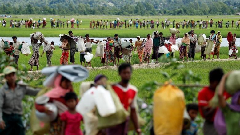 Myanmar-Bangladesh Janji Kerja Sama Pulangkan Pengungsi Rohingya