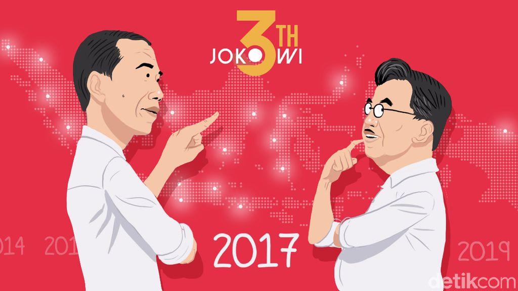 Masyarakat Belum Puas Kinerja Ekonomi Jokowi-JK, Kenapa?