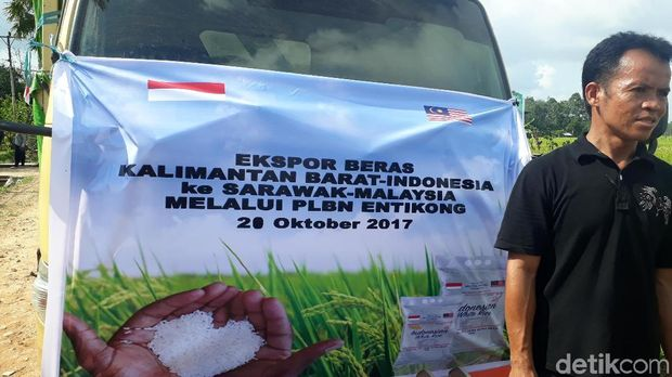 Ekspor 25 ton beras ke Malaysia