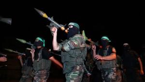 AS Syaratkan Hamas Letakkan Senjata untuk Masuk Pemerintah Palestina