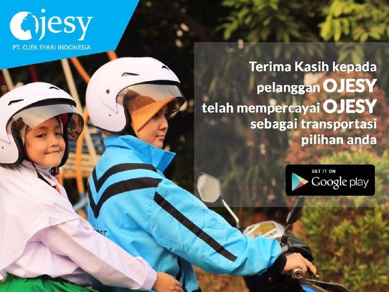 OJESY, ojek online khusus wanita (Foto: Dok. OJESY)