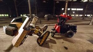 Duel Robot ala Film Real Steel, AS Imbang Lawan Jepang