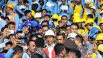 Gaya Jokowi Tingkatkan Kualitas Pekerja Konstruksi Indonesia
