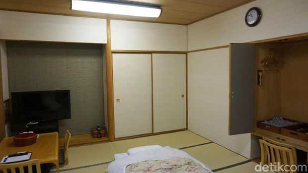 Seperti ini kamar ala Nobita di Hotel Mielparque Osaka (Wahyu/detikTravel)