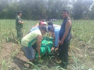 Pensiunan Polisi Ditemukan Meninggal di Kebun Jagung