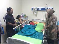 Risma meminta agar Suprijadi dan Winarsih fokus merawat anaknya