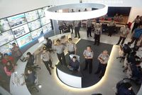 Command Center Polrestabes Surabaya sejalan dengan Promoter Kapolri