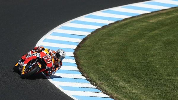 Marquez Percaya Diri Akan Lebih Tangguh di Hari Kedua