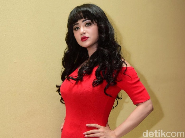 Foto: Dewi Persik (Noel/detikHOT)