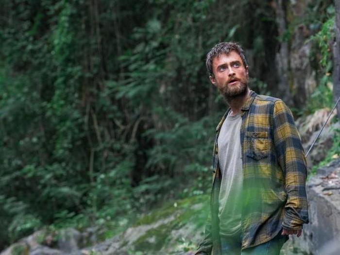Daniel Radcliff dalam film Jungle