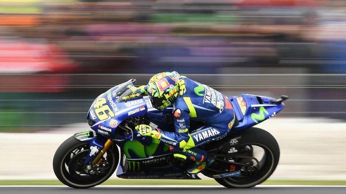 Valentino Rossi tak yakin bisa bertarung di baris depan pada MotoGP Australia (Quinn Rooney/Getty Images)