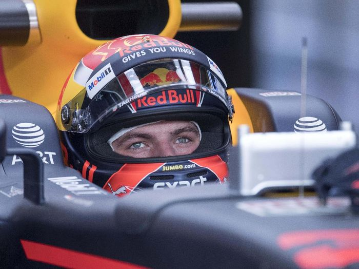 Pebalap Red Bull, Max Verstappen (Foto: Jerome Miron-USA TODAY/Reuters)