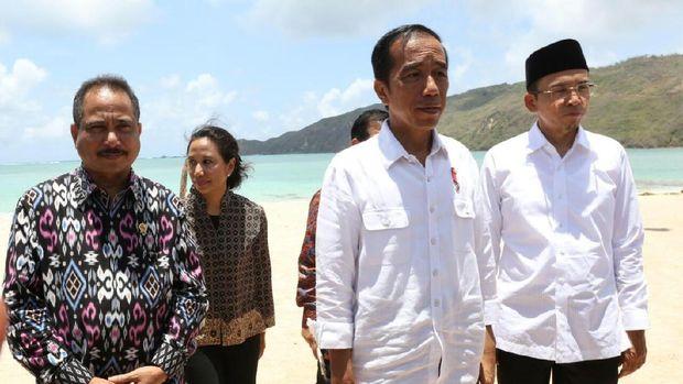 5 Pesan Jokowi Untuk Pariwisata Mandalika di Lombok