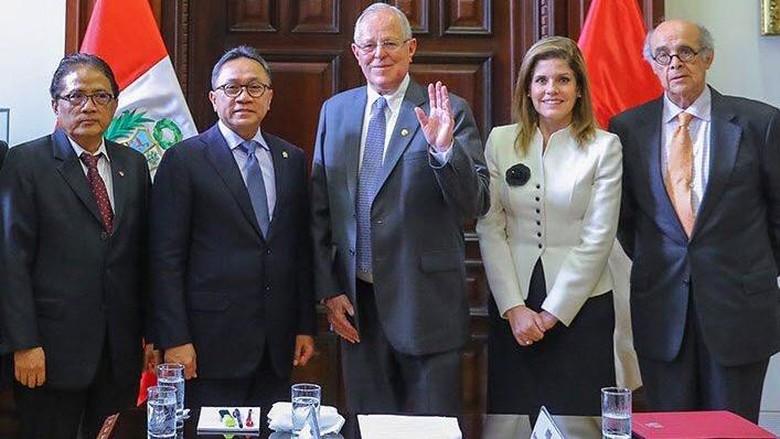 Bertemu Presiden Peru, Ketua MPR Pamer Cara RI Kelola Keberagaman