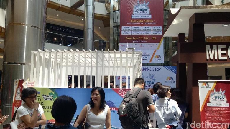 Ada banyak paket wisata halal di Mega Travel Fair Surabaya (Gracella/detikTravel)
