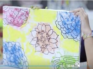 Ide Aktivitas Saat Weekend: Bikin Lukisan Cantik Pakai Spons