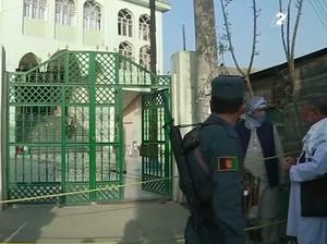 Tragis! Bom Bunuh Diri Serang Masjid di Afganistan