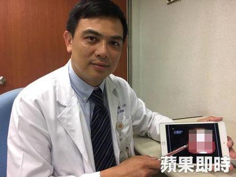 Dr Wang Hung-jen yang menangani pasien