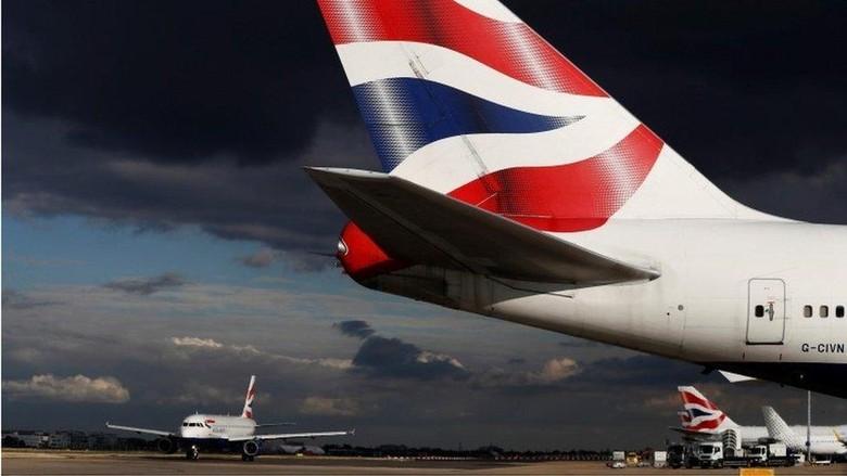 Ilustrasi maskapai British Airways (BBC Magazine)