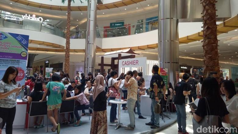 Suasana MTF Surabaya 2017 (Gracella/detikTravel)