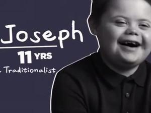 Kisah Inspiratif Bocah dengan Down Syndrome yang Sukses Jadi Model