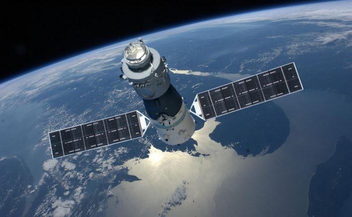 Ilustrasi stasiun luar angkasa Tiangong-1. Foto: Ilustrasi Stasiun Luar Angkasa Tiangong 1 (Futurism)