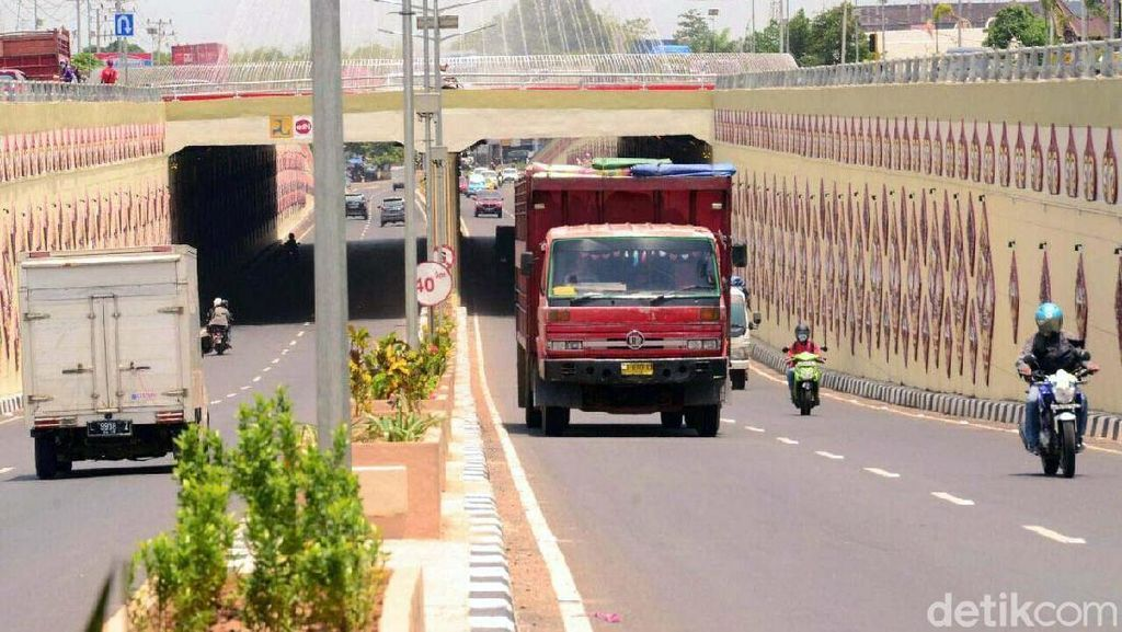 Underpass Simpang Mandai Diresmikan