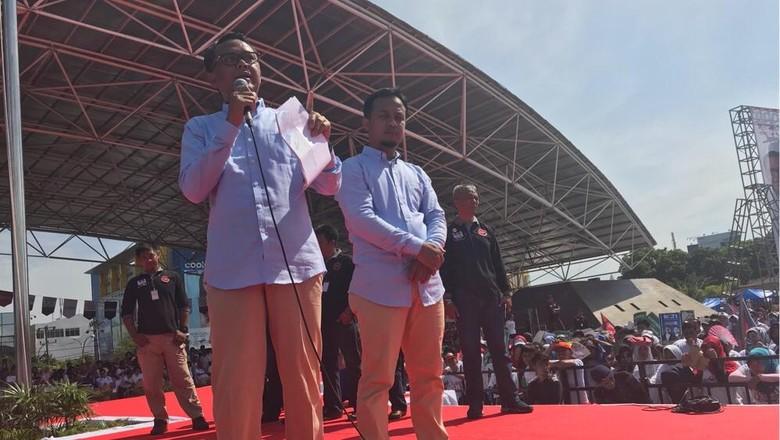 Nurdin Abdullah-Sudirman Sulaiman Deklarasi Maju Pilgub Sulsel 2018