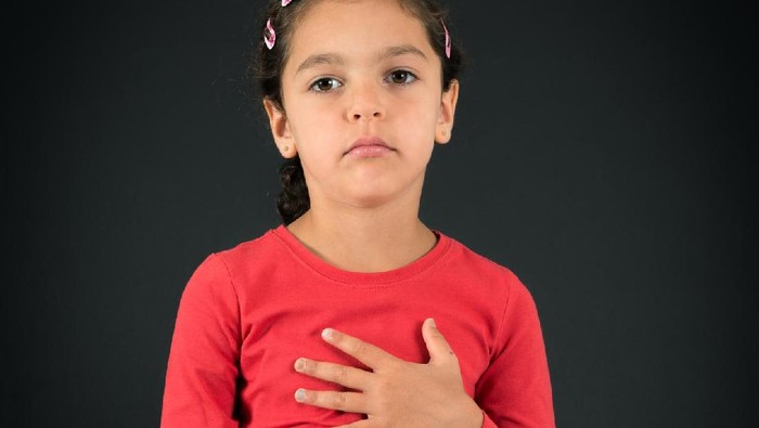 Ilustrasi anak pengidap penyakit jantung bawaan. Foto: Thinkstock