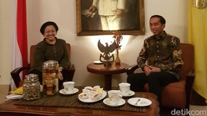 Megawati Buatkan Masakan Spesial Kesukaan Bung Karno untuk Jokowi