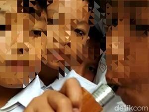 Viral, Video Anak SD di Trenggalek Ramai-ramai Isap Vapor
