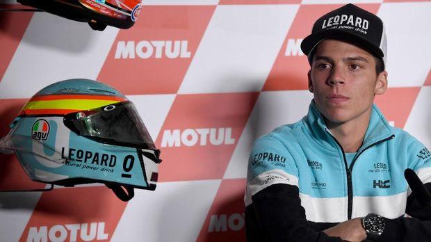 Joan Mir baru setahun tampil di Moto2 sudah 'naik kelas' ke MotoGP tahun ini. (