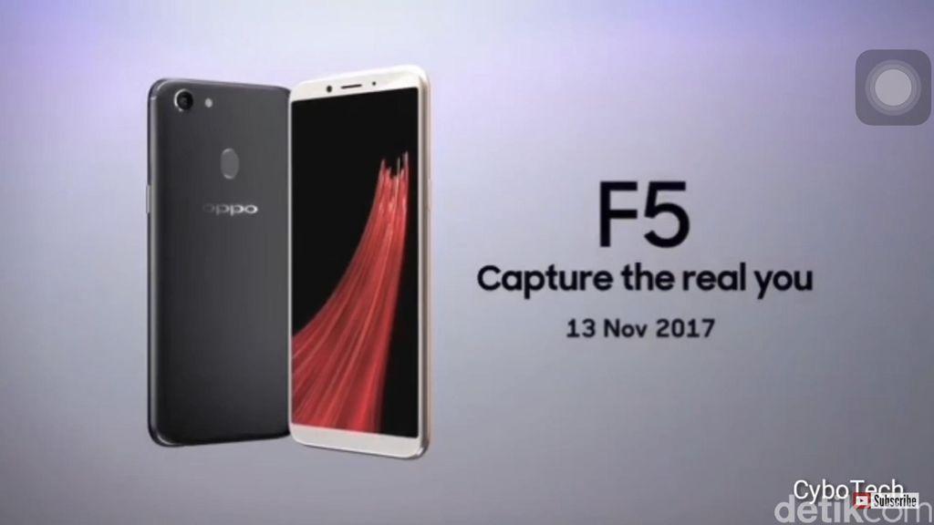 OppoF5 merupakan penerus F3.Foto: istimewa