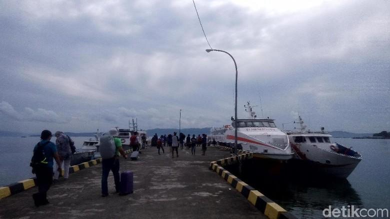 Pelabuhan Tulehu (Syanti/detikTravel)